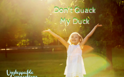 Respect Your Children's Ducks